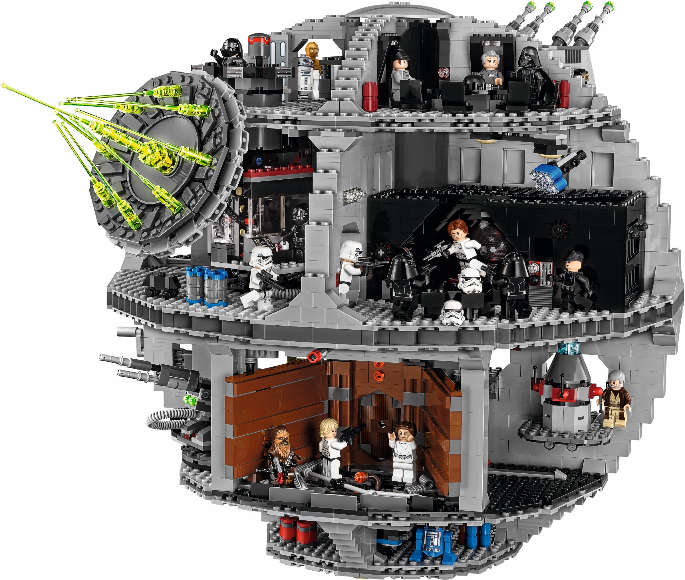 new lego death star 75159 is the same as old lego death star 10188 brick digest. Black Bedroom Furniture Sets. Home Design Ideas